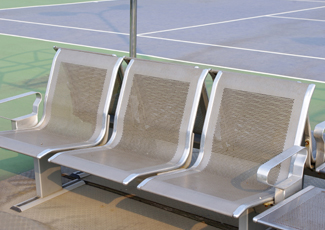 Stainless Steel Bench Mather, CA