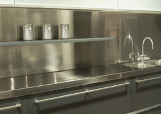 Stainless Steel Countertops Chicagoland