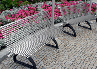 Stainless Steel Benches Chicagoland
